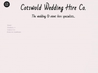 cotswoldweddinghireco.co.uk