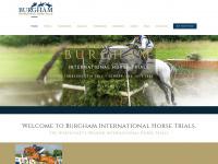 burghaminternationalhorsetrials.co.uk