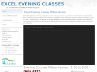 exceleveningclasses.co.uk