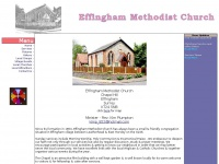 Effinghammethodistchurch.co.uk