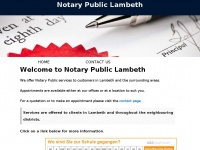 notarylambeth.co.uk