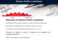 notarylewisham.co.uk