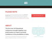 Data4goodconf.org.uk
