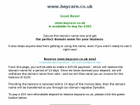 Baycare.co.uk