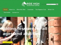 ridehighequestriancentre.co.uk