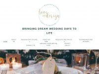 lovebydesignweddings.co.uk
