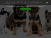 thepetservicesregister.co.uk