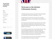 britishlithuaniansociety.org.uk