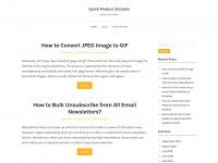 quickproductactivate.com