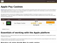 applepaycasinosonly.com
